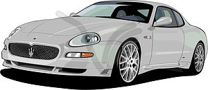 Maserati GranSport - Vektorgrafik