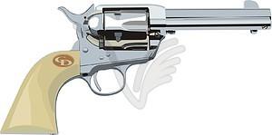 Revolver - Vektor-Clipart EPS
