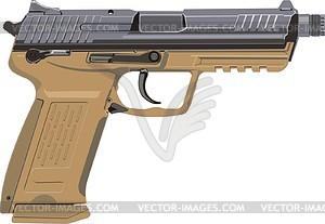 Pistole Springfield XD - Vektorgrafik