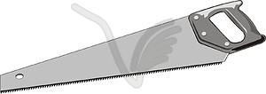 Bügelsäge - vektorisiertes Bild