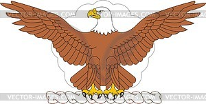 Helmzier der US-Luftstreitkräfte - Vektor-Illustration
