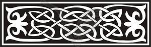 Keltische Knotendekoration - vektorisierte Grafik