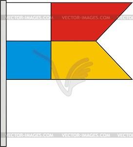 Flagge - Vektor-Abbildung