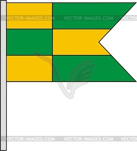 Flagge - vektorisierte Abbildung