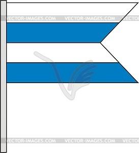Flagge - Vektor-Klipart