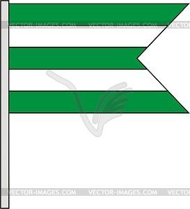 Flagge - Vektor Clip Art