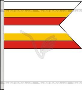 Flagge - Vector Clip Art