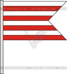 Flagge - Vektor-Clipart / Vektor-Bild