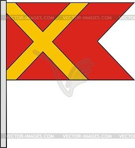 Flagge - Vektorabbildung