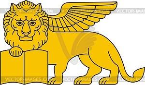 Venezianischer Löwe von St. Mark - Vektorgrafik