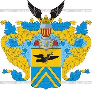 Makarow, Familienwappen (T.5, S.131 OG) - Vektorgrafik