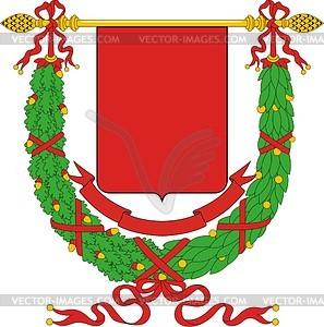 Italienischer Provinz-Wappenschild - Vektor-Bild