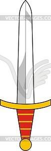 Schwert - Vektorgrafik-Design