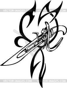 Tribal Gun Tattoo Designs Images amp Pictures Becuo