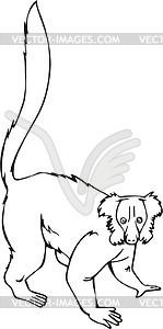 Indri - vector clip art