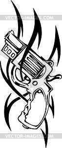 Revolver Tattoo - Clipart
