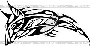 Волк - векторное изображение EPS