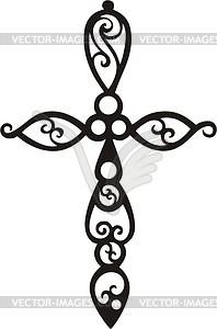 Kreuz Tattoo - Vektorgrafik