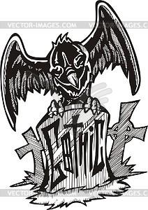 Gothic (Graffiti) - Vektorgrafik