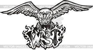 Westen (Graffiti) - Vektorgrafik