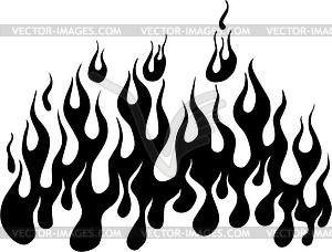 Flame - vector clip art
