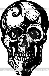 Schädel - Vector Clip Art