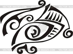 Auge Tattoo - Vektor-Skizze