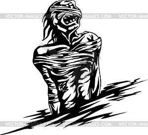 Mumie - Vektorgrafik
