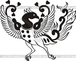 Adler Tattoo - Vector-Illustration