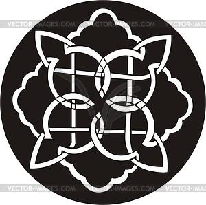 Knoten Dingbat - Vektor-Clipart