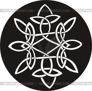 Knoten Dingbat - Vektor-Design
