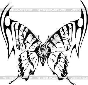 Schmetterling - vektorisiertes Bild