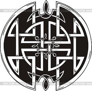 Keltische Knote - Vektor-Klipart