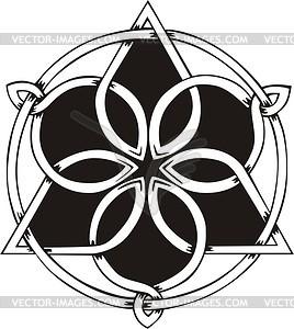 Keltische Knote - Vektor Clip Art