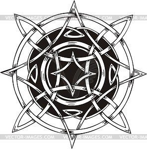 Keltische Knote - vektorisiertes Clip-Art