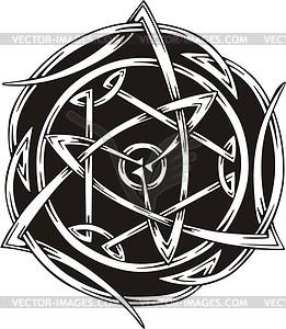 Keltische Knote - Clipart-Design