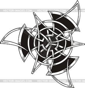 Keltische Knote - Vektor-Skizze
