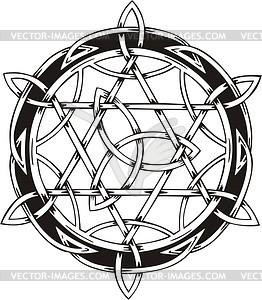 Keltische Knote - Klipart