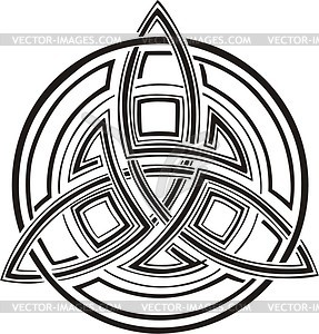 Keltische Knote - Vector-Clipart / Vektorgrafik