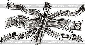 Britische Flagge - Vektorgrafik
