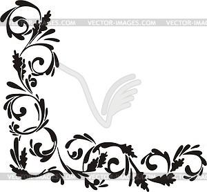 Corner - vector image