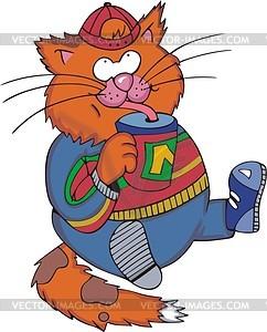 Curious cat car... Curious Cat Clipart