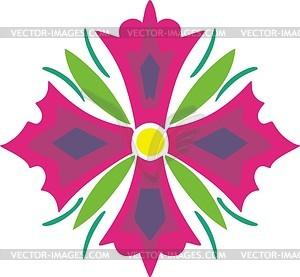 Farbes Dingbat - Vector-Abbildung