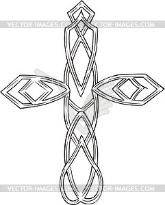 Knote Kreuztatau - Vector-Bild