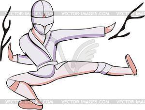 Ninja - vektorisiertes Clip-Art