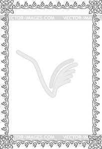 Keltischet Rahmen - Clipart-Design