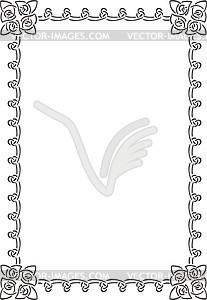 Keltischet Rahmen - Clipart