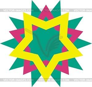 Sterne Dingbat - Vektorgrafik
