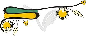 Keltische Ornamentik - Vector-Abbildung
