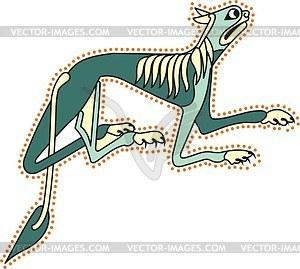 Keltischer Löwe - Vektor-Clipart / Vektor-Bild